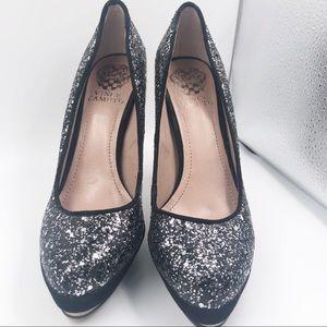 NWOT Vince camuto glitter sparkles heels